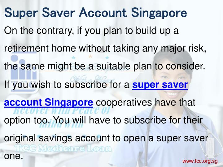 Super Saver Account Singapore