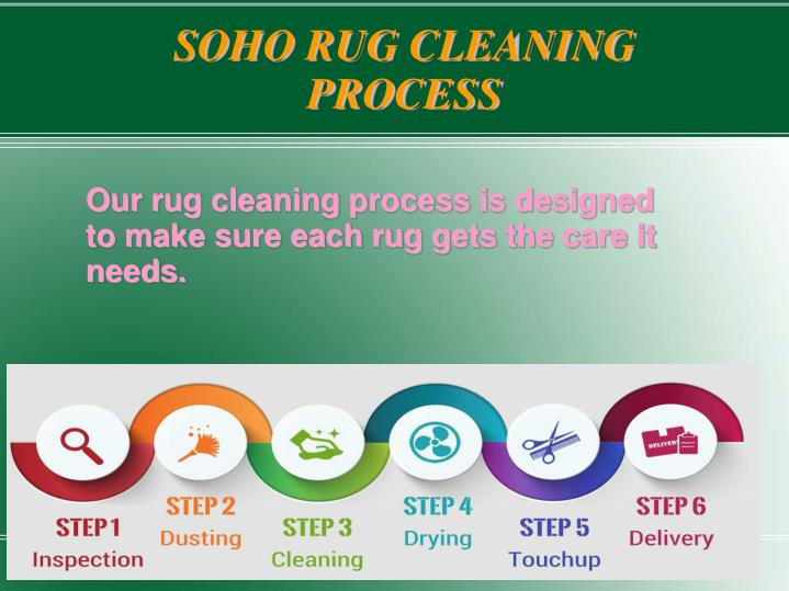 SOHO RUG CLEANING PROCESS