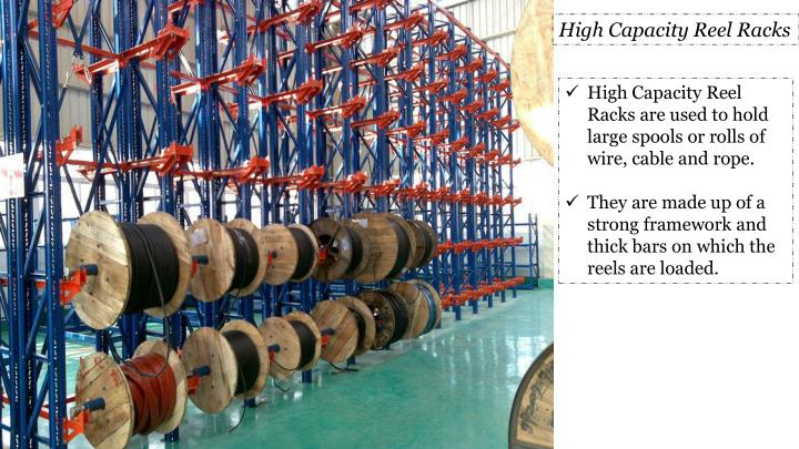 High Capacity Reel