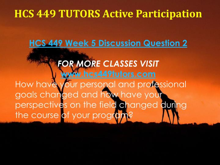 hcs 449 program reflection Program reflection hcs/449 version 5 1 university of phoenix material program reflection answer the following questions about your overall bsha program experience our.