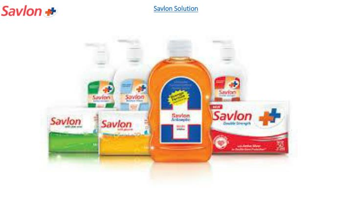 Savlon solution