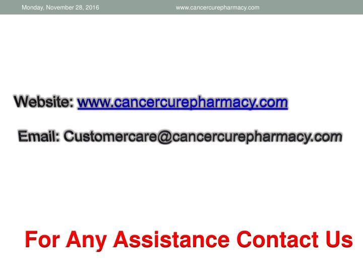 www.cancercurepharmacy.com