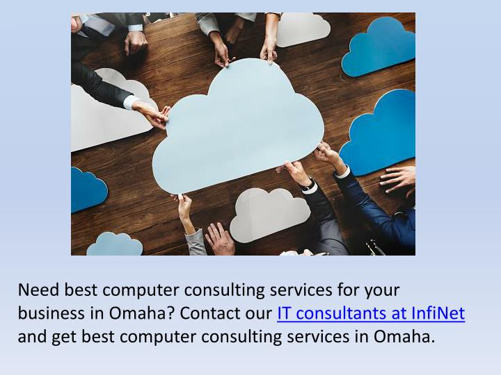 Need best computer consulting services for your business in Omaha? Contact our