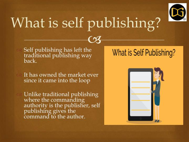What is self publishing