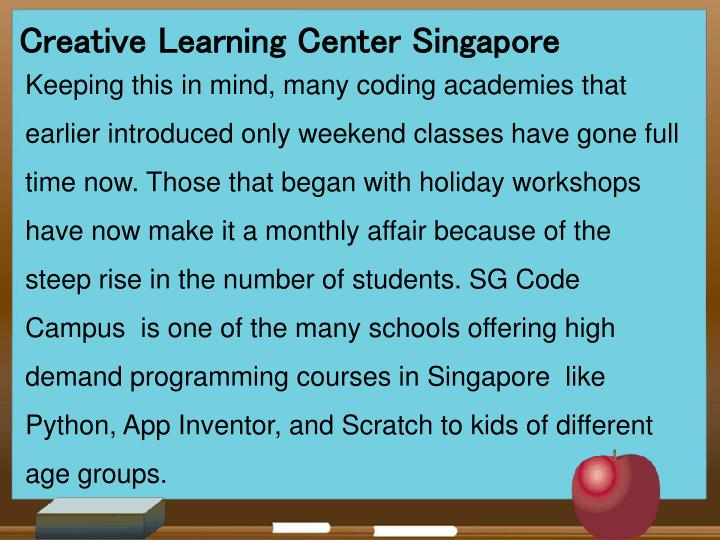 Creative Learning Center Singapore