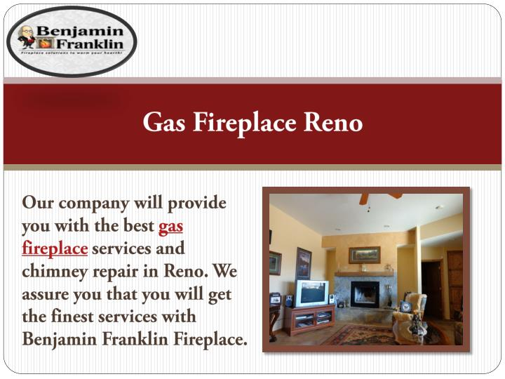 Gas Fireplace Reno