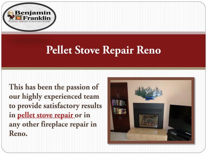 Pellet Stove Repair Reno