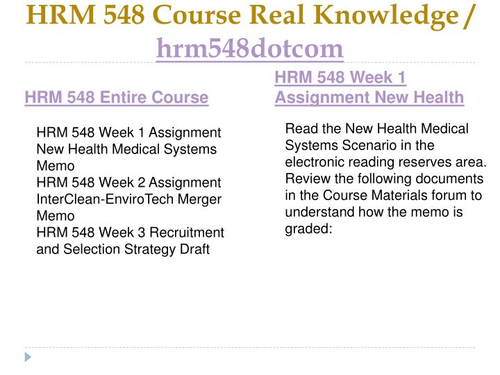 Hrm 548 course real knowledge hrm548dotcom1