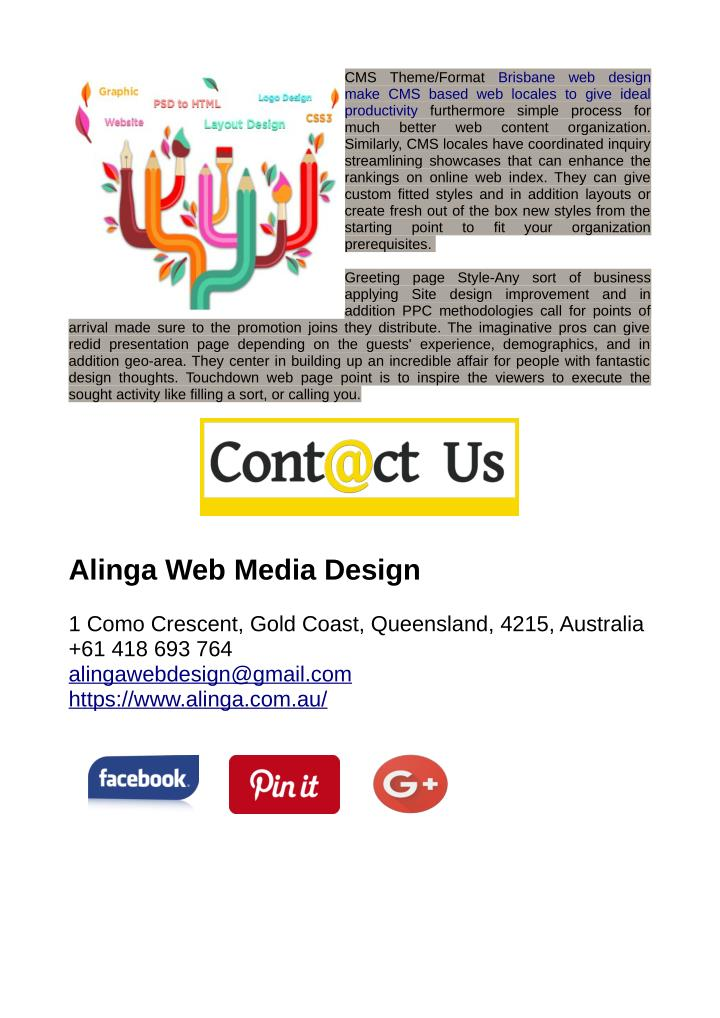 CMS  Theme/Format  Brisbane  web  design