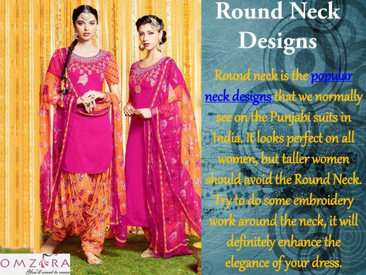 Round Neck Designs