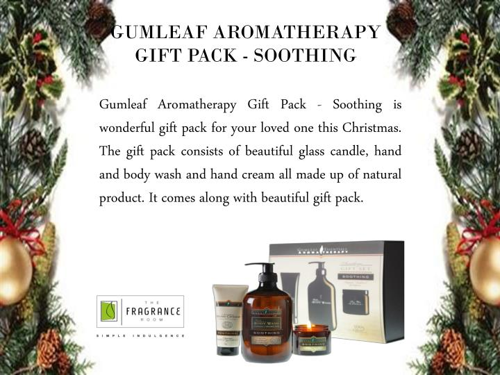 GUMLEAF AROMATHERAPY GIFT PACK - SOOTHING