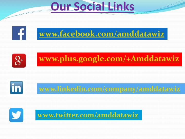 Our Social Links