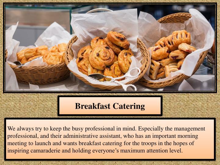 Breakfast Catering