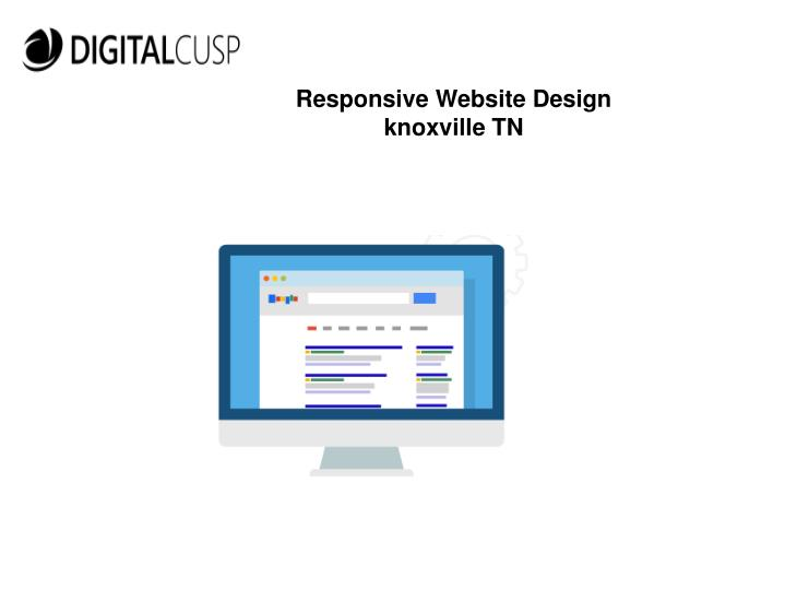 Responsive Website Design knoxville TN