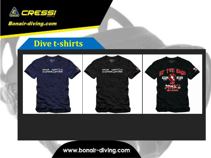 Dive t-shirts