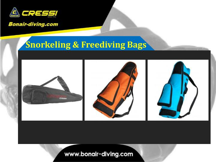 Snorkeling & Freediving Bags