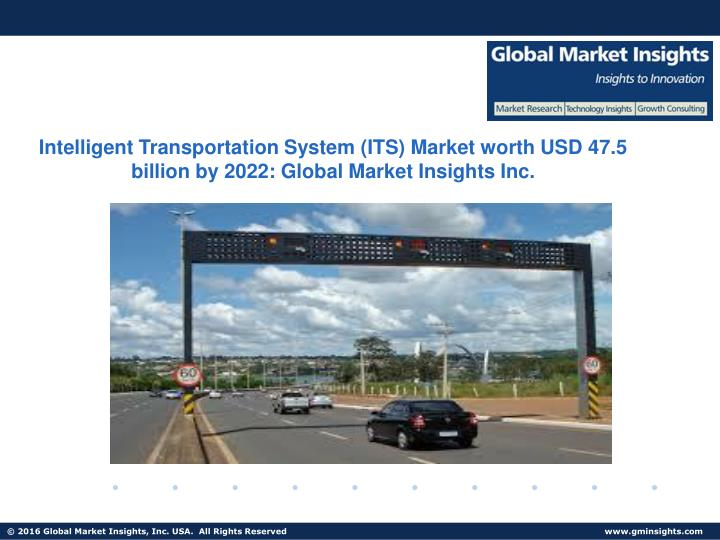 Intelligent Transportation System (ITS) Market