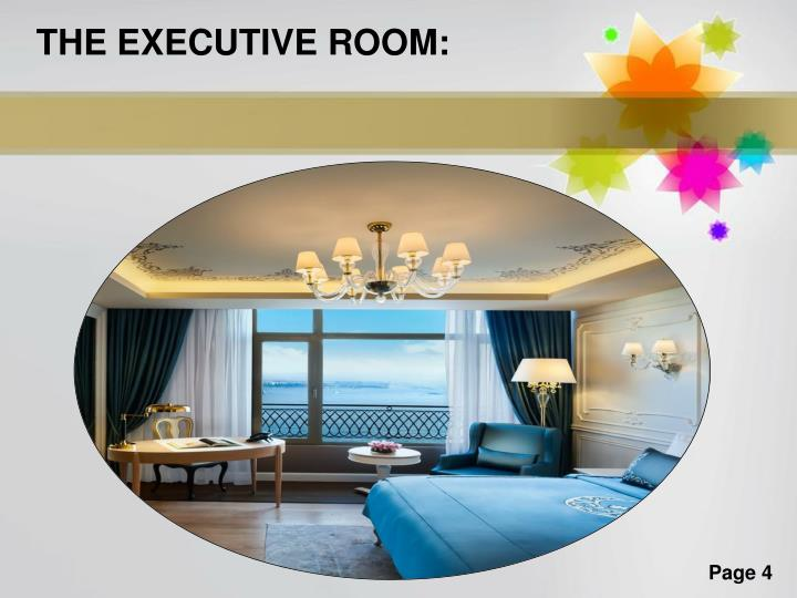 THE EXECUTIVE ROOM: