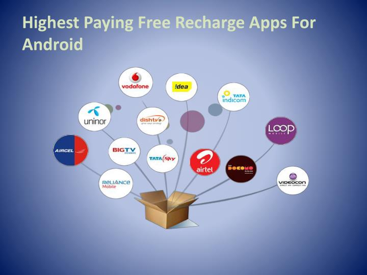 Highest Paying Free Recharge Apps For Android