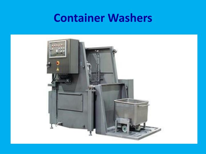 Container Washers