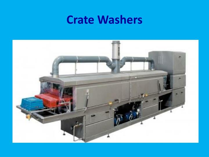Crate washers