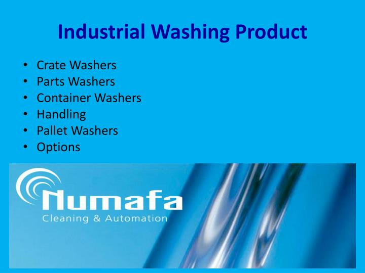Industrial Washing Product