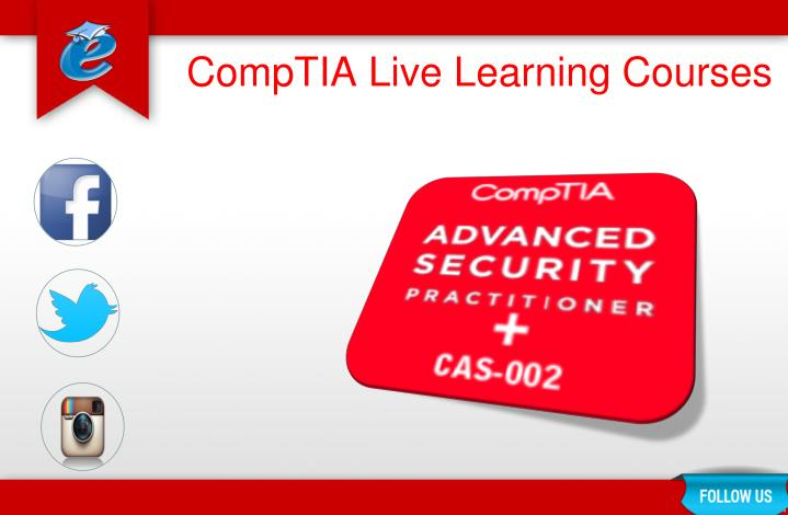 Comptia live learning courses