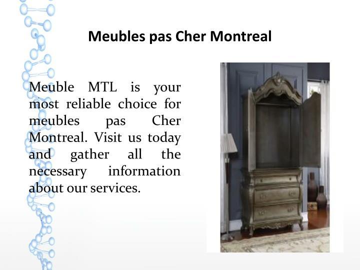 Meubles pas Cher Montreal