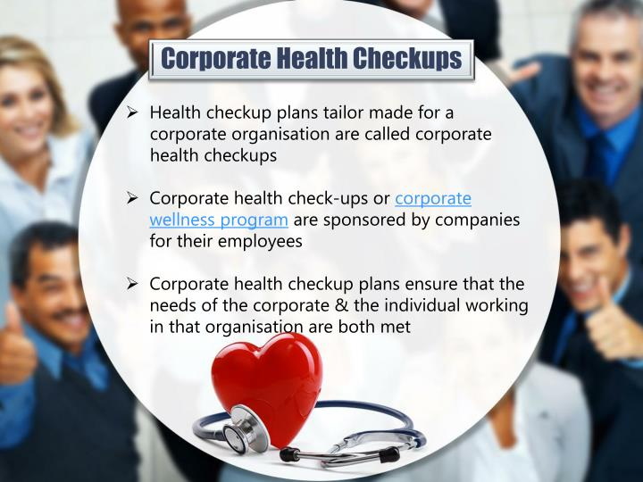 Corporate Health Checkups