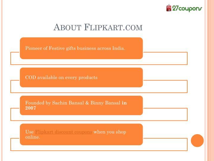 About Flipkart.com