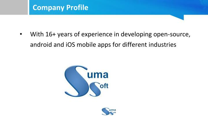 With 16+ years of experience in developing open-source, android and iOS mobile apps for different industries