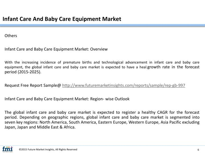 Infant Care And Baby Care Equipment Market