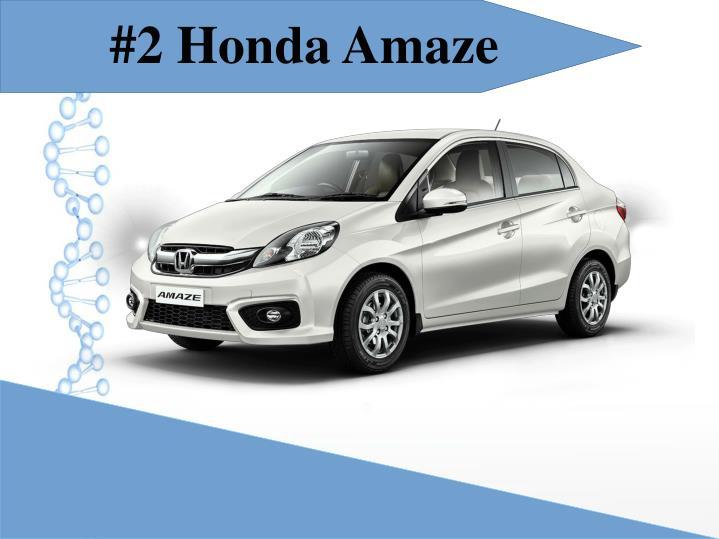 #2 Honda Amaze