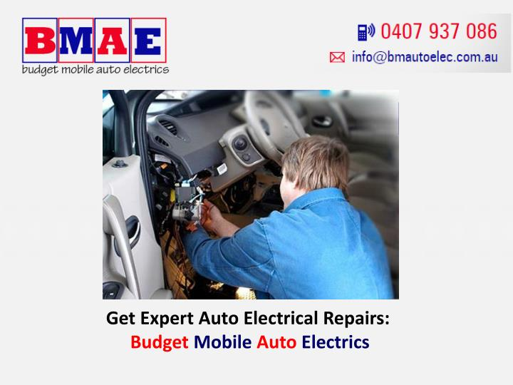 Get Expert Auto Electrical