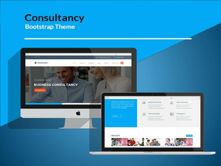 Best bootstrap business consulting web template 7449377