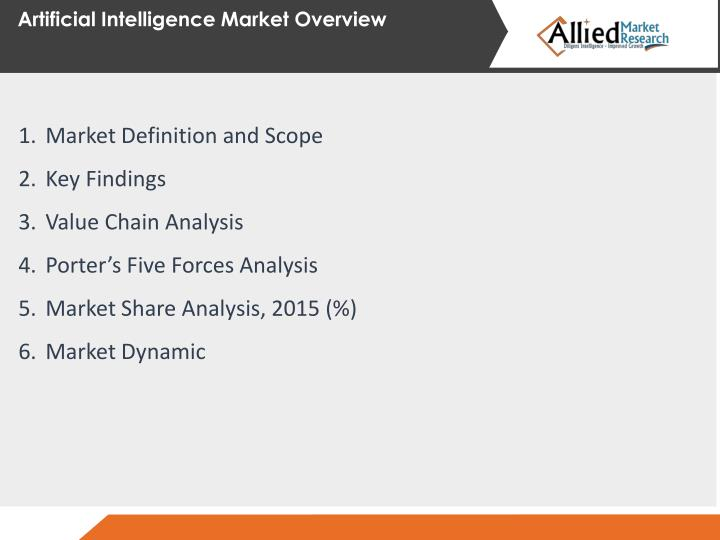 Artificial Intelligence Market Overview