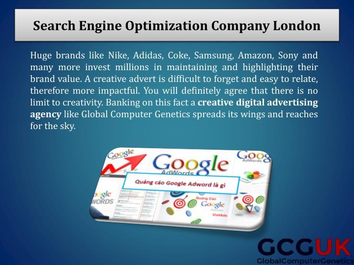 Search Engine Optimization Company London
