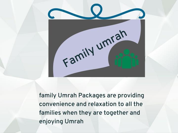 Family umrah
