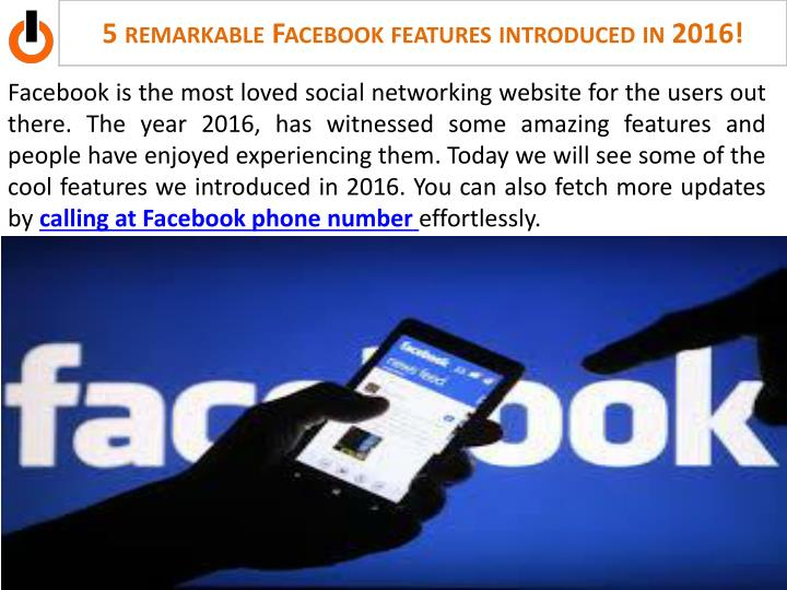 5 remarkable facebook features introduced in 2016