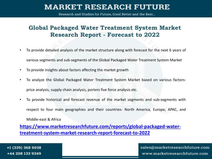 Global Packaged Water Treatment System Market Research Report - Forecast to 2022
