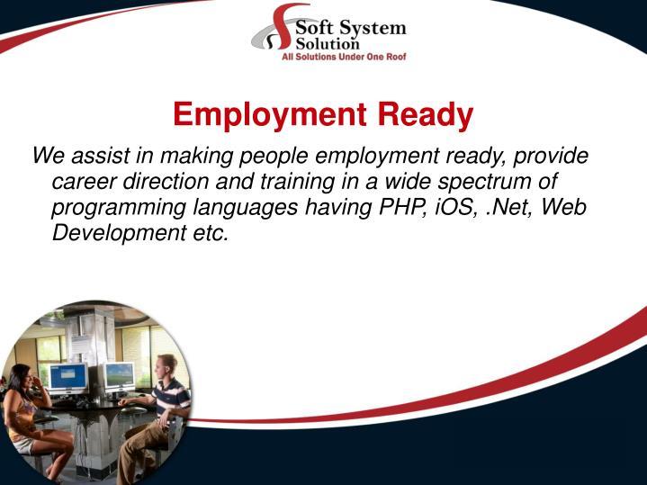 Employment Ready