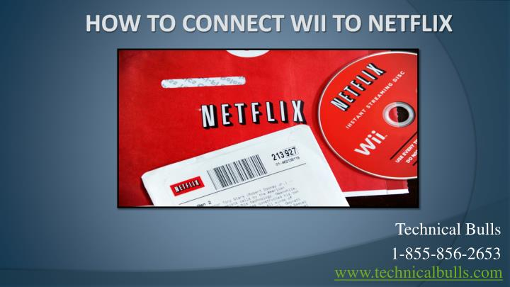 How to connect wii to netflix