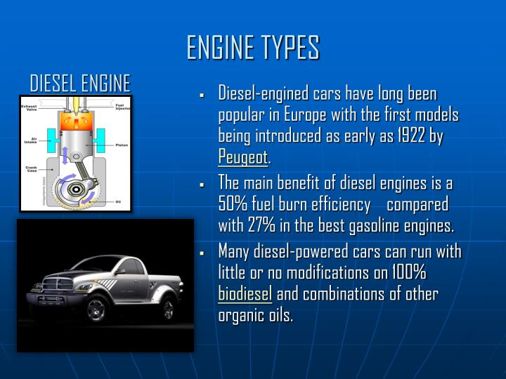 ENGINE TYPES