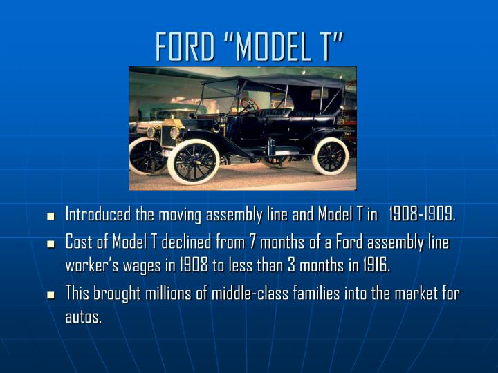 "FORD ""MODEL T"""