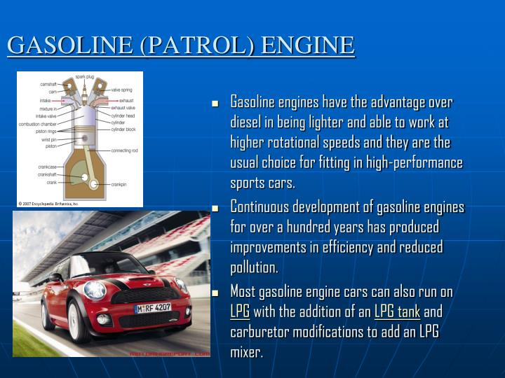 GASOLINE (PATROL) ENGINE