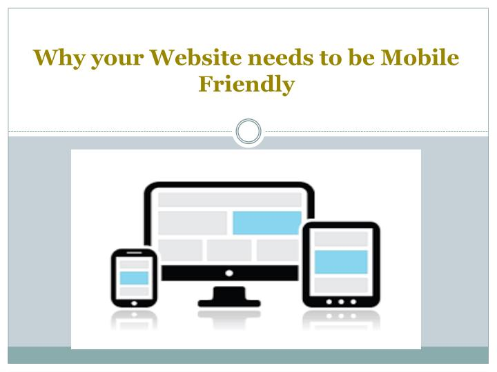 Why your website needs to be mobile friendly