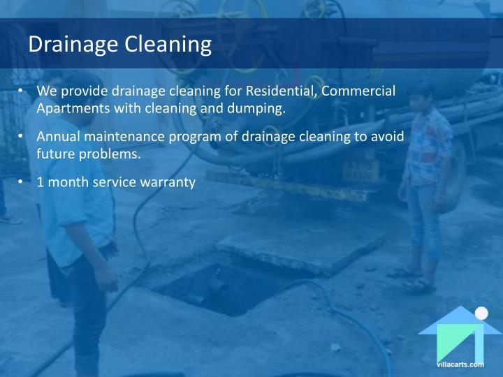 Drainage Cleaning