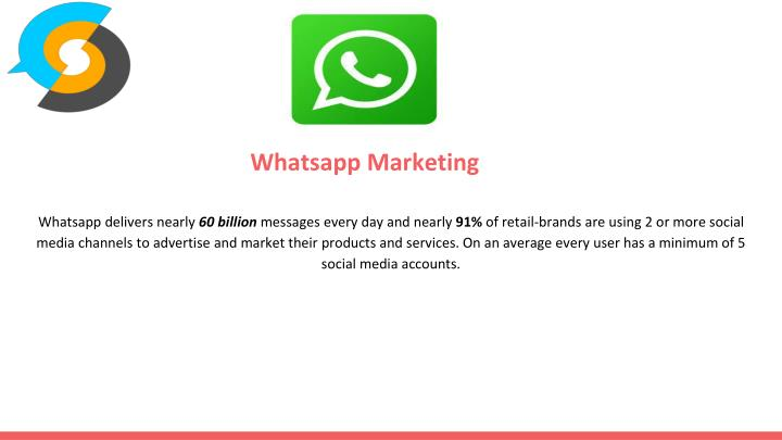 Whatsapp delivers nearly