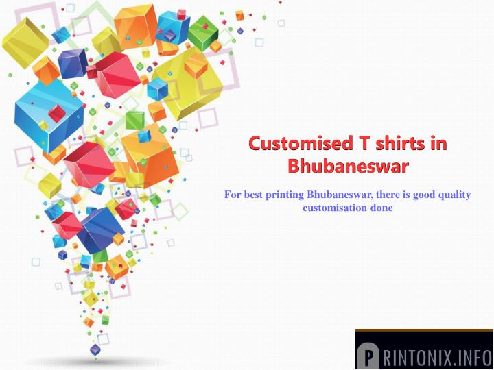 customised t shirts in bhubaneswar
