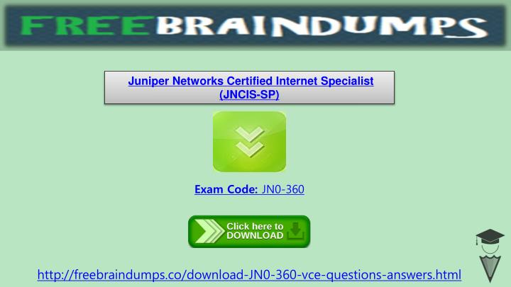 Juniper Networks Certified Internet Specialist (JNCIS-SP)